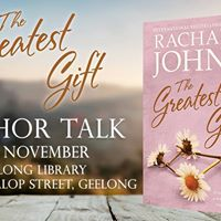 The Greatest Gift Author Talk Geelong