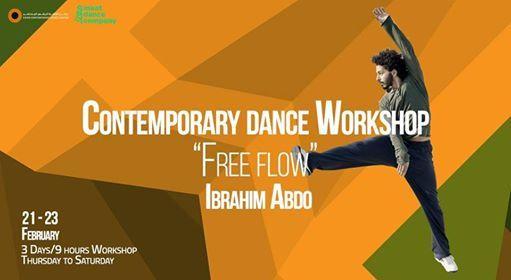 Contemporary Dance Free Flow workshop with Ibrahim Abdo