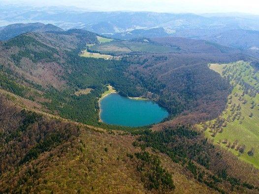 Lacul Sfanta Ana Sighisoara Alba Iulia Sibiu Brasov