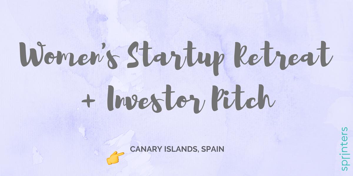 Womens Startup Retreat  Investor Pitch
