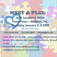 Meet &amp Play John Loveland MSW Paws-Abilities Inc