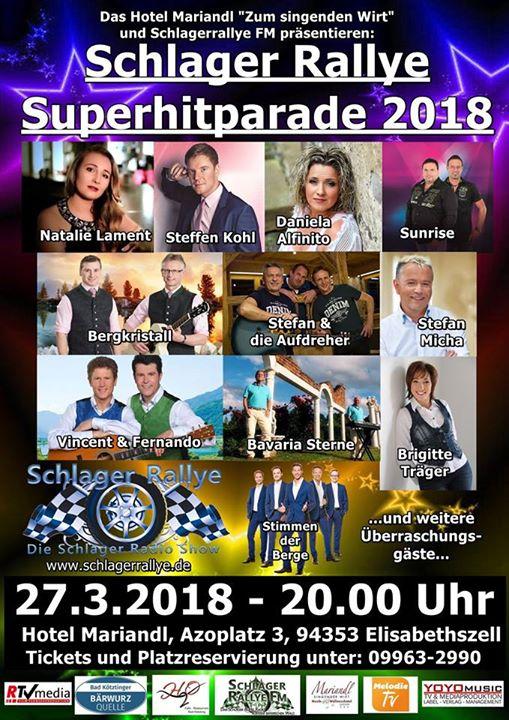 Schlager Rallye Superhitparade 2018 at Singender Wirt