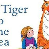 Family Yoga - The Tiger Who Came to Tea