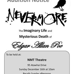 Nevermore Auditions