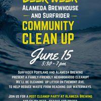 Beer Week Community Clean Up