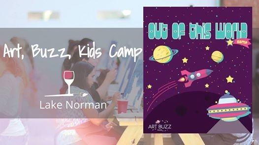 Kids Art Camp Out Of This World At Wine Design Lake Norman Nc