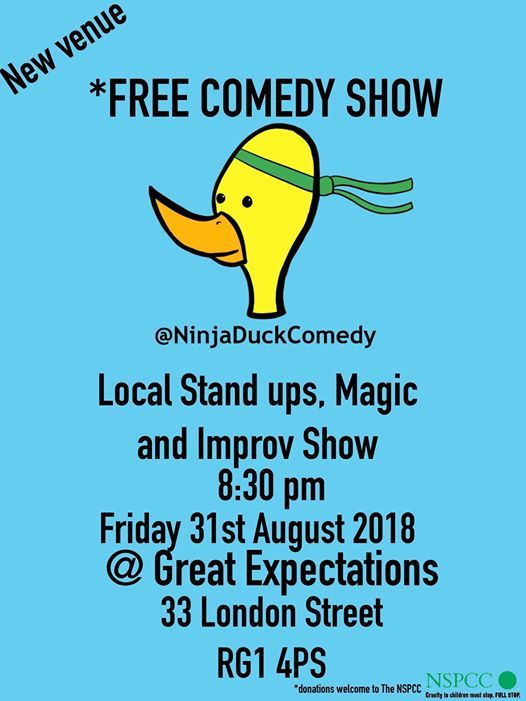 Free Comedy Show - stand-up and improv