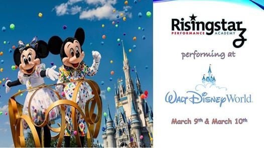 Rising Starz Performing at Disney
