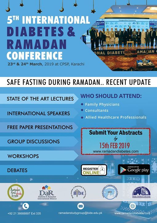 5th International Diabetes and Ramadan Conference