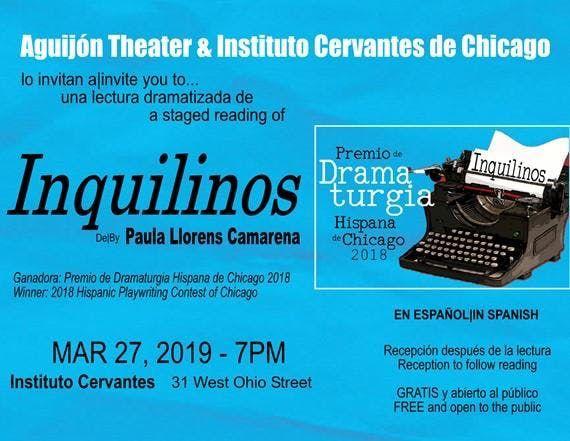 International Hispanic Playwriting Contest 2018