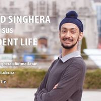 Vote Gurshabad Singhera for SUS VP Student Life