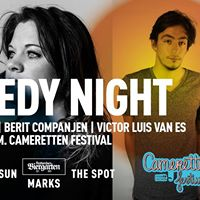 Comedy Night  Tim Hartog Berit Companjen &amp Victor Luis van Es
