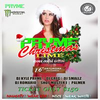 This SATURDAY Pryme Christmas Cooler Cruise