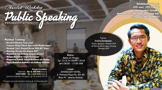 Public Speaking Workshop Jakarta