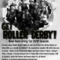 Roller Derby Recruit Night
