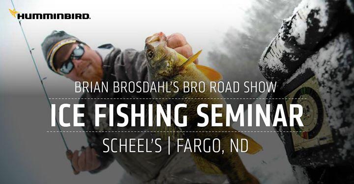 Ice Fishing Seminar with Brian Brosdahl at Scheels, Fargo