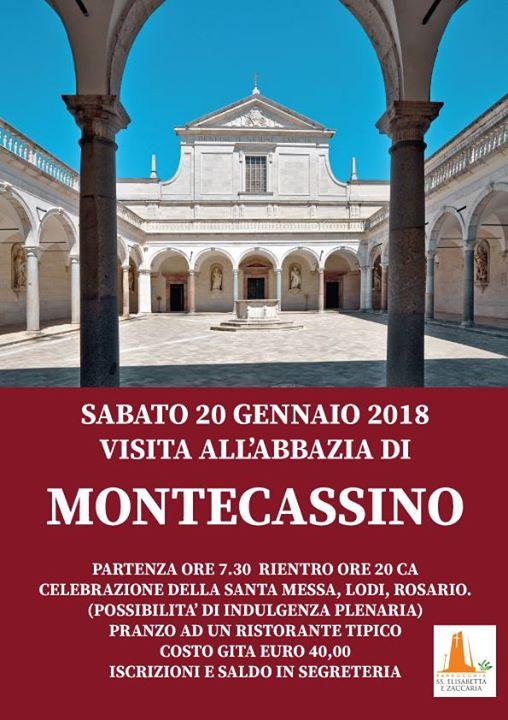 Visita Abbazia di Montecassino