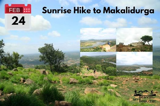 Sunrise Trek to Makalidurga [Bookings closed]