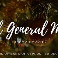Annual General Meeting 2017 - EYP Cyprus