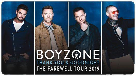 Boyzone at The O2 arena