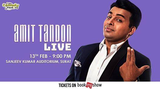 Amit Tandon LIVE - Surat