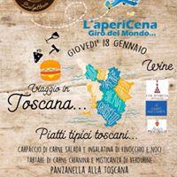 Apericena toscano Bar 45