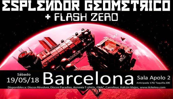 Esplendor Geomtrico  Flash Zero en Concierto
