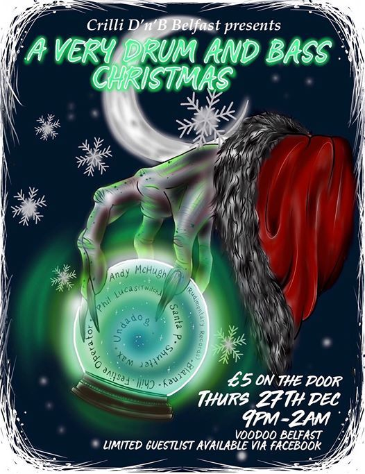 Crilli Presents A Very Drum And Bass Christmas
