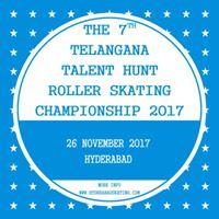 The 7th Telangana Talent Hunt Roller Skating Cship 2017