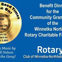 Spring Fundraiser &amp Celebration for Winnetka Northfield Rotary
