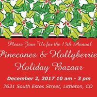 Pinecones &amp Hollyberries Holiday Bazaar