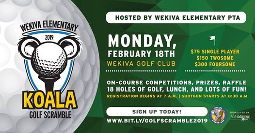 Wekiva Elementary Golf Scramble