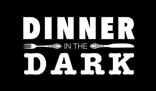 dinner in the dark at waltinis stadl langdorf. Black Bedroom Furniture Sets. Home Design Ideas