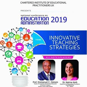 NATIONAL CONFERENCE ON EDUCATION ADMINISTRATION 2019
