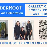 Year-End Art Celebration at WonderRoot