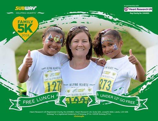 a1a3f575534c9 Nottingham 2018 Subway Helping Hearts™ 5K run series at Wollaton ...