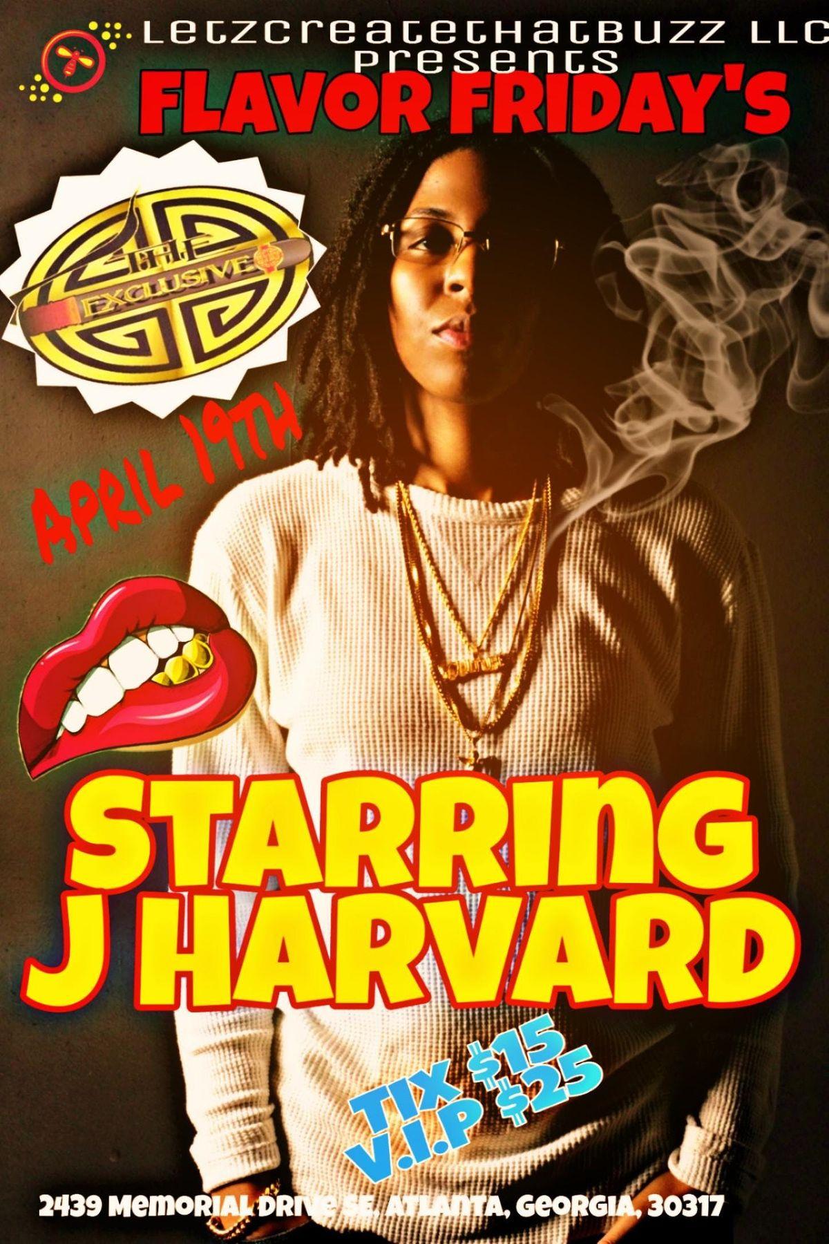 Flavor Fridays ( J Harvard )