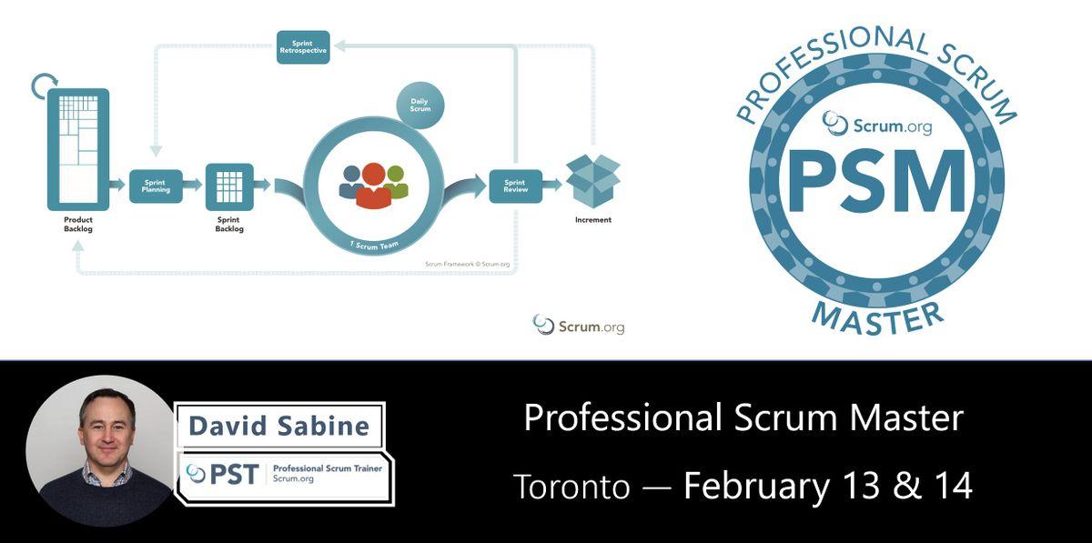 Professional Scrum Master (PSM)  Toronto Downtown