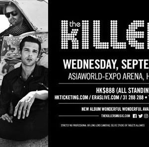 The Killers Live in Hong Kong