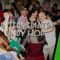 Intermediate Lindy Hop with Guest Teacher Cat Foley (July)