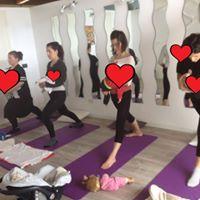 Yoga post parto con beb