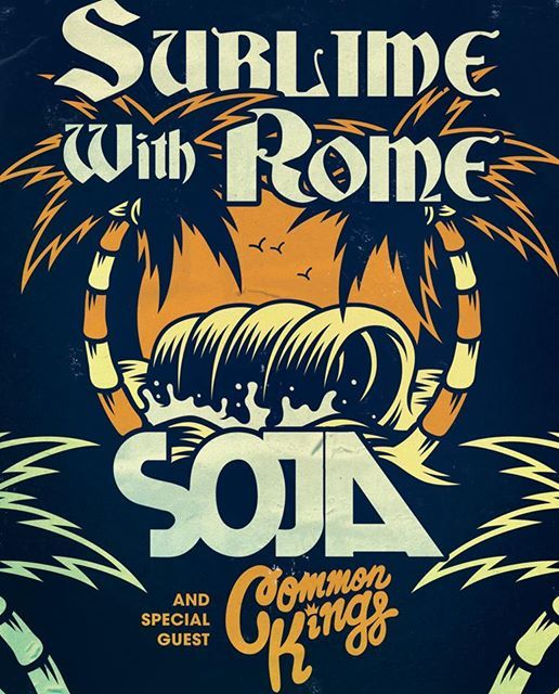 Sublime With Rome & SOJA at Koka Booth Amphitheatre