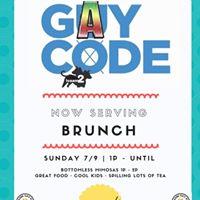 Gay Code LIVE Brunch