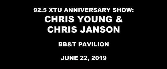 925 XTU Anniversary Show Chris Young Janson