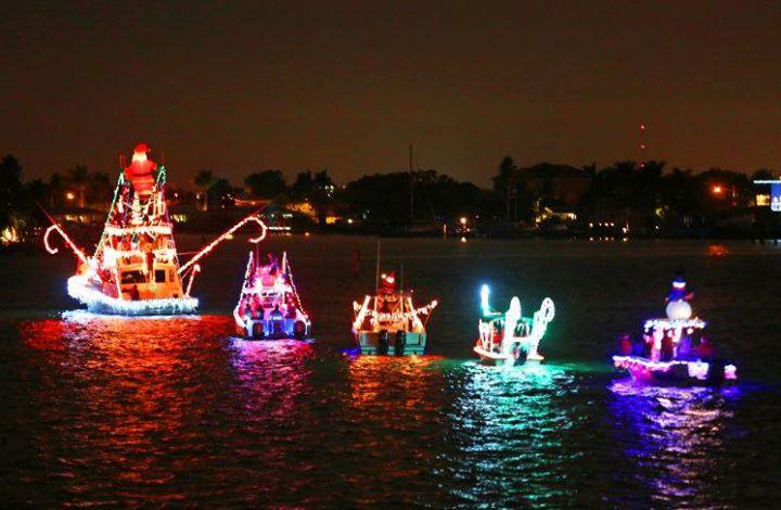 Lake Norman Christmas Light Boat Parade