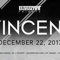 Vincent at Bassmnt Friday 1222