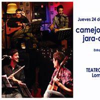 CamejoCapocci  Jara-Ostrovsky en El Teatro Municipal de Lomas