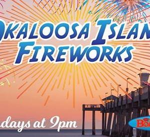 Okaloosa Island Fireworks