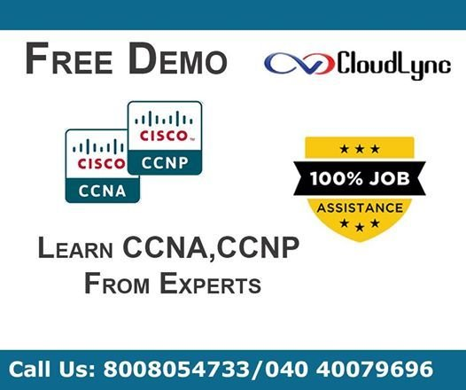 CCNA, CCNP Course with 100% Placement - Hyderabad at