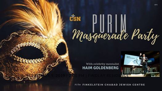 Masquerade Purim Party